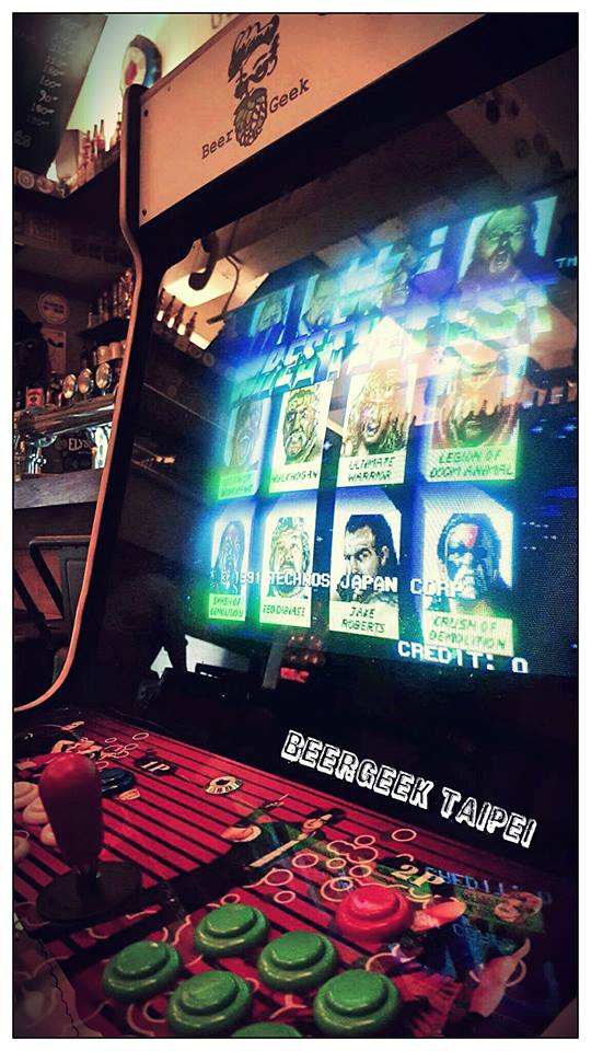 Arcade games galore, Street Fighter and a lot more.