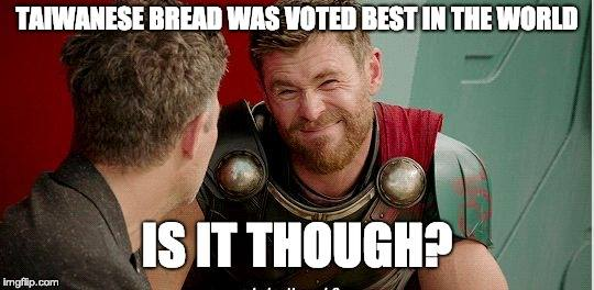 Taiwanese bread was voted best in the world