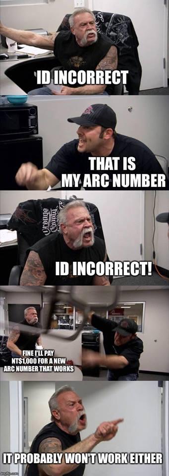 ID INCORRECT!