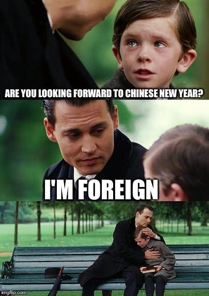Are you looking forward to Chinese new year?