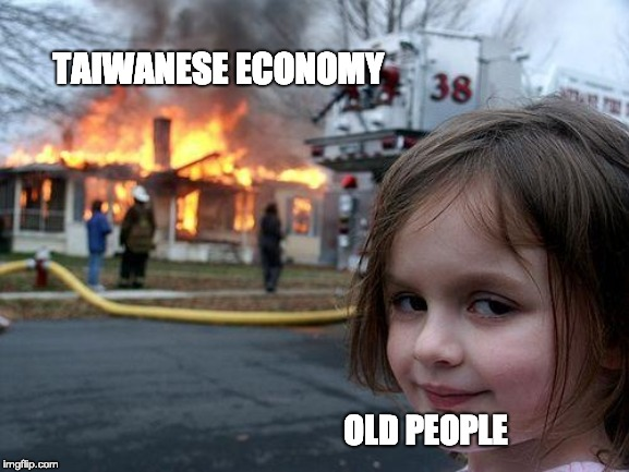 Old people and Taiwan's economy