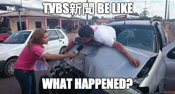 TVBS be like