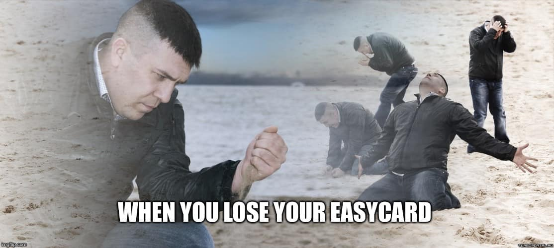 When you lose your EasyCard