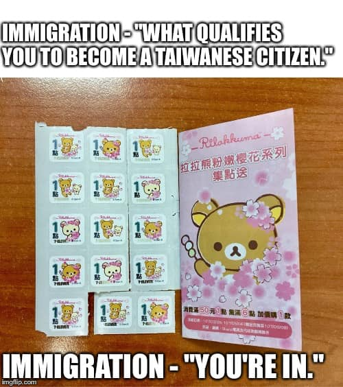 How to get citizenship in Taiwan