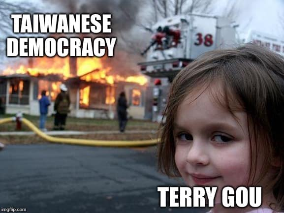 Taiwanese democracy after Terry Gou
