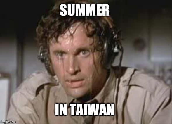 Summer in Taiwan
